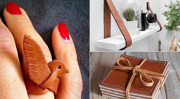 Photo of What you can do with leather!