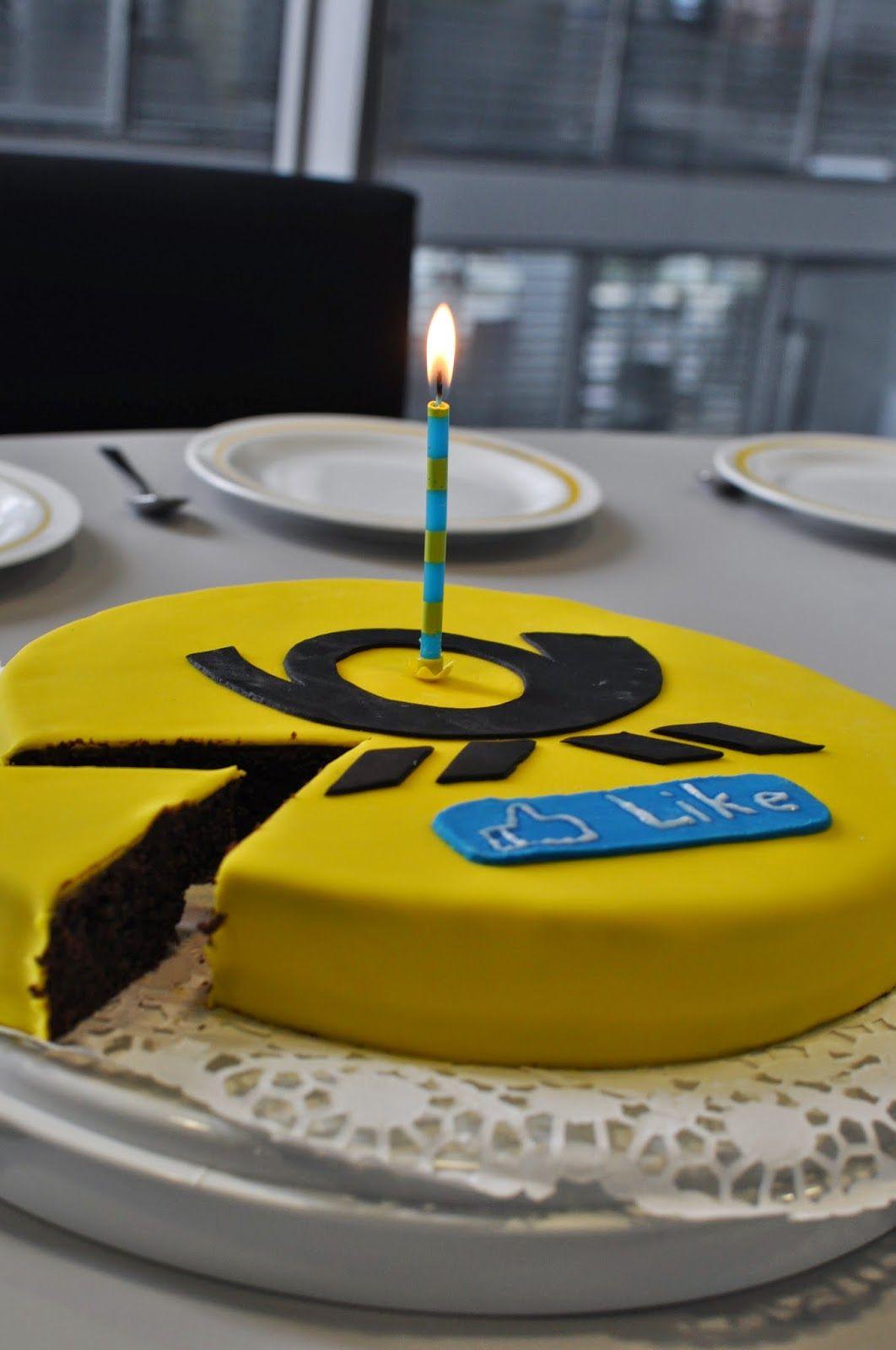 Geburtstagskuchen für die Facebook-Seite der Deutschen ...