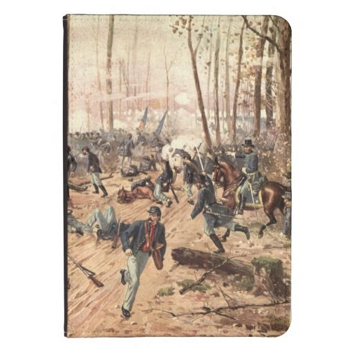 Ideal for any lover of Civil War history: a Kindle 4 Case featuring a beautiful painting on fabric of Union field-artillery in action at the Battle of Shiloh in April 1862, by Thule de Thulstrup.This work was originally commissioned in 1888 to help illustrate Benson Lossing's popular History of the Civil War, and remains a colorful and lively depiction which can be enjoyed by modern readers as well. site stats