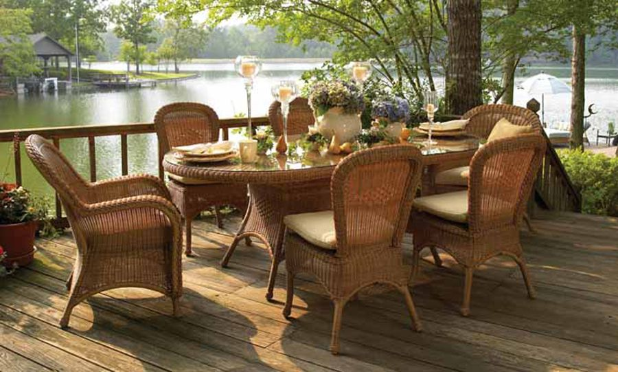 Resplendent Resin Wicker Patio Furniture