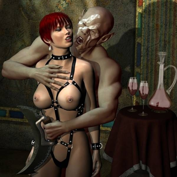 Секс с чудовищем 3д