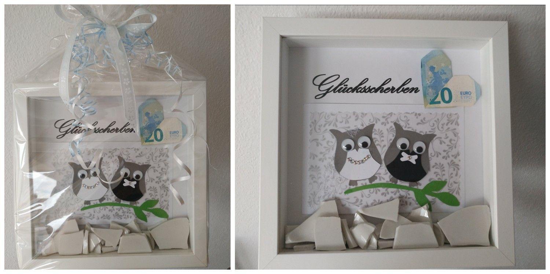 Geschenk Polterabend Scherben Bilderrahmen | Geschenke in 2018 ...