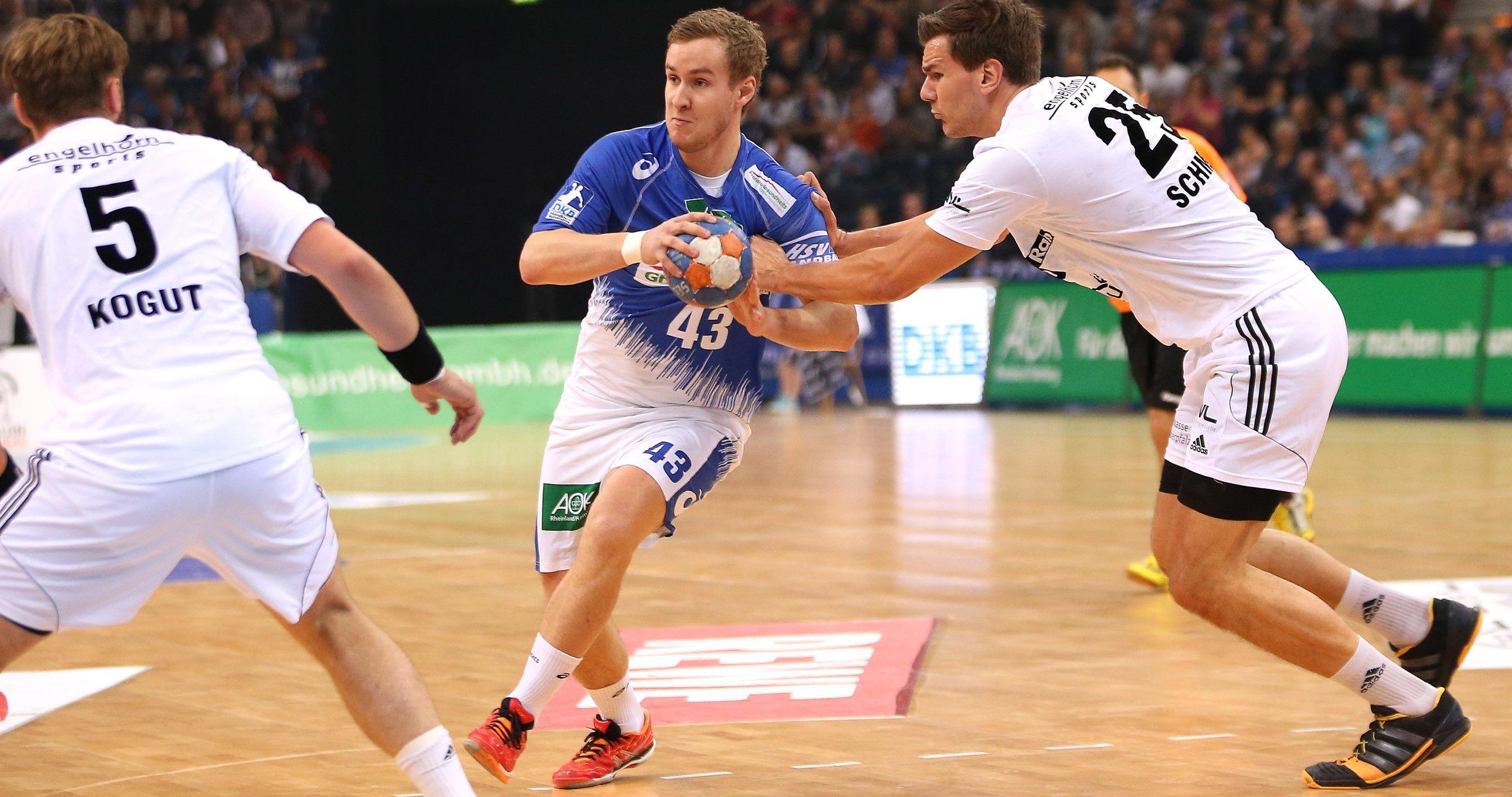 HSV Handball verlängert den Vertrag mit Alexander Feld