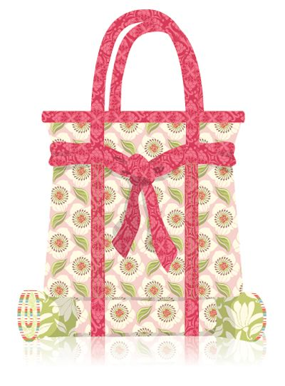 Kate Spain - Verna Quilt and Bag - http://www.unitednotions.com ...