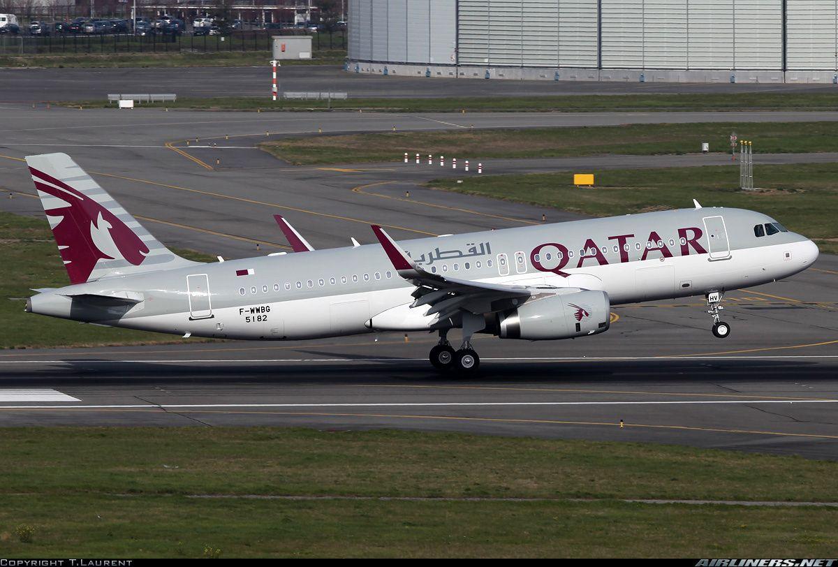 Qatar Airways FWWBG / A7AHV Airbus A320232 aircraft