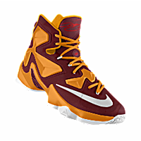 I designed the maroon, gold and white Bethune-Cookman Wildcats Nike women\u0027s  basketball shoe