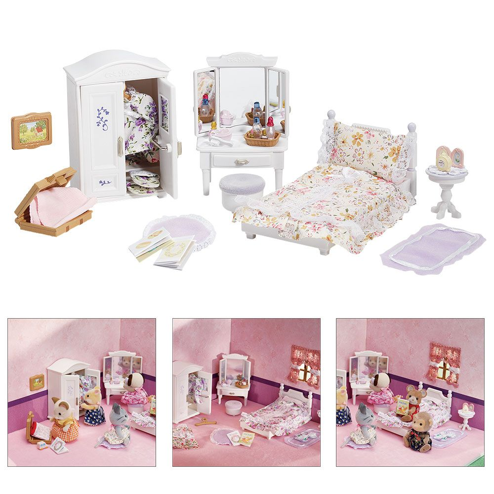 Calico Critters Girl's Lavender Bedroom Set The Animal
