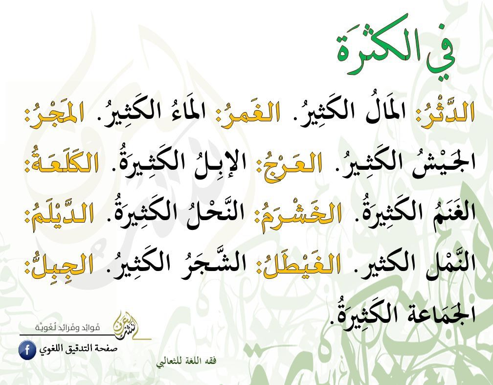 Pin By Soso On فوائد لغوي ة Quran Quotes Love Beautiful Arabic Words Learn Arabic Language