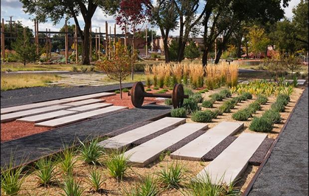 Santa Fe Railyard Park + Plaza incorporates Stabilized ...