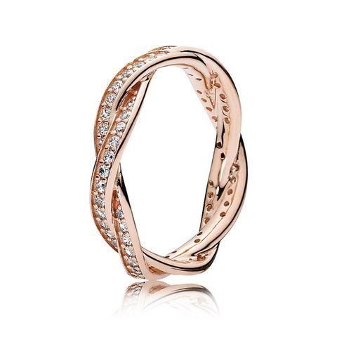 pandora rose anello