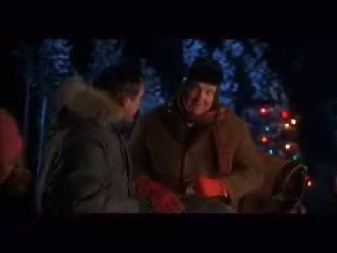 national lampoons christmas vacation saucer sled scene - Christmas Vacation Sled