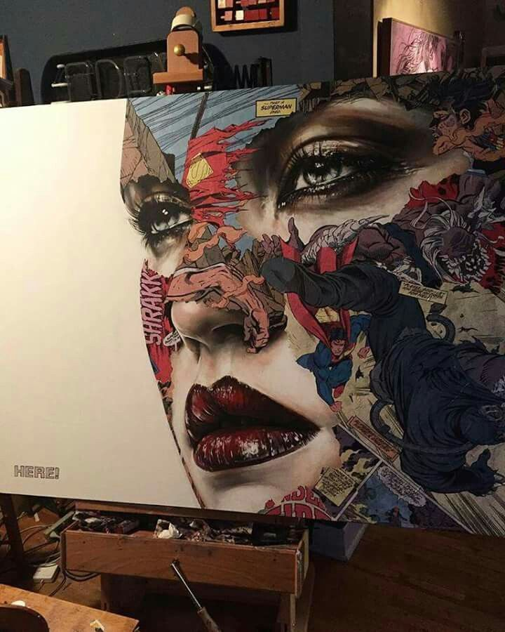 Gorgeous painting by Sandra Chevrier