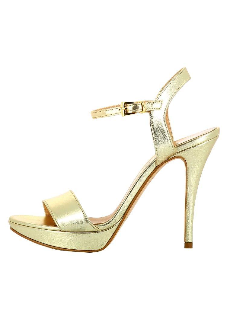 3c2544ba ¡Consigue este tipo de sandalias de piel de EVITA ahora! Haz clic para ver  los detalles. Envíos gratis a toda España. Evita VALERIA Sandalias gold:  Evita ...