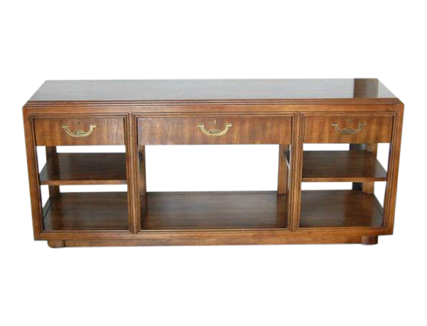 1960s Vintage Drexel Heritage Campaign Table On Chairish Com