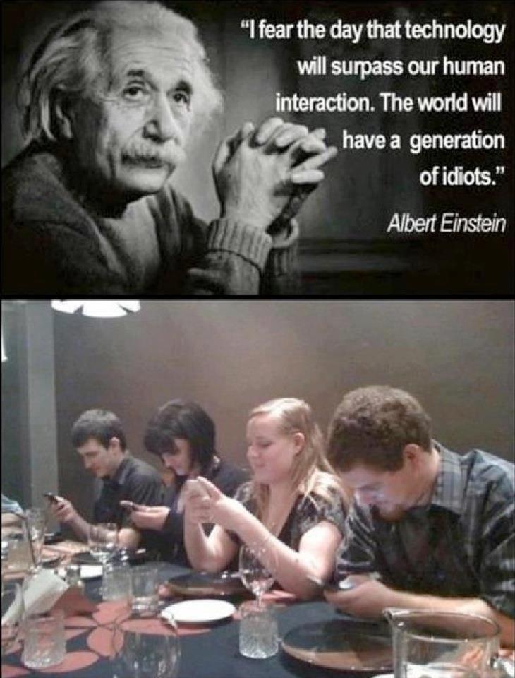 Albert Einstein On Human Interaction And Technology Kindness