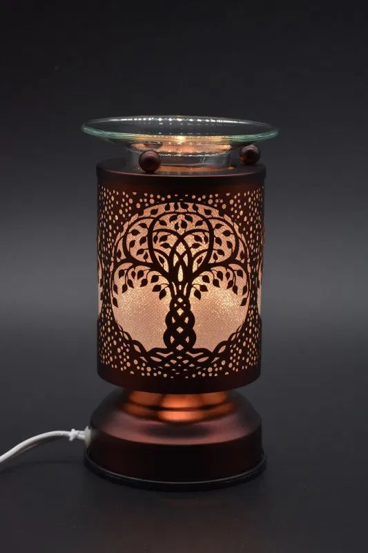 Tree Of Life Copper Touch Warmer Shining Sol Candle Company Lamp Scented Oils Oil Warmer