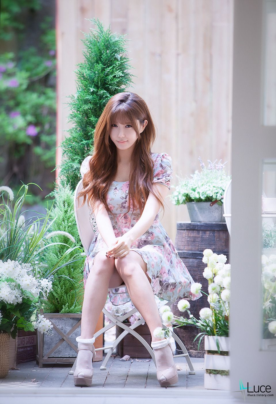 xxx nude girls: Heo Yun Mi - Denim Shorts