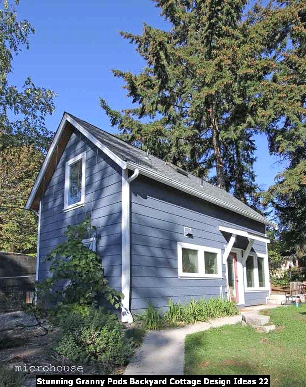 Stunning Granny Pods Backyard Cottage Design Ideas Sweetyhomee