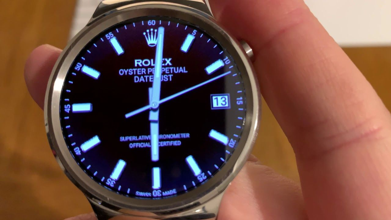 Rolex Oyster Perpetual Datejust - Free watch face for Wear