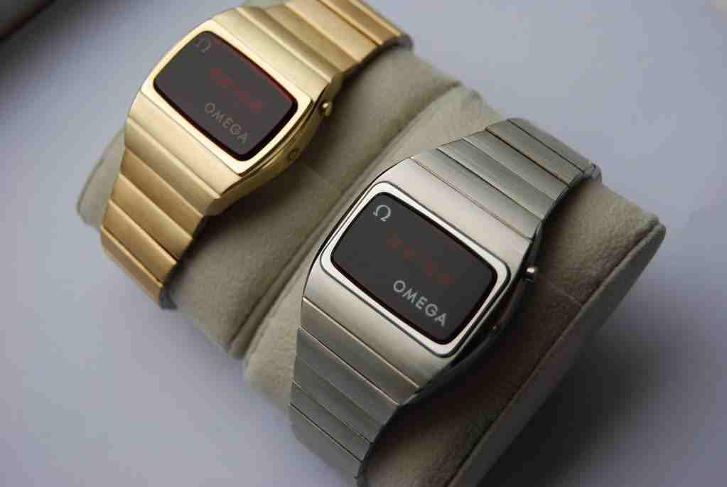 5020bac4d Omega digital cal 1603 Retro Watches, Vintage Watches, Cool Watches, Led  Watch,