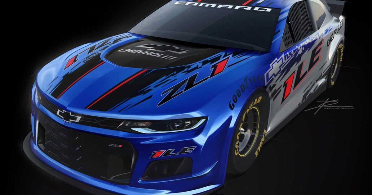 Chevrolet Camaro Zl1 1le Will Hit Nascar Ovals In 2020