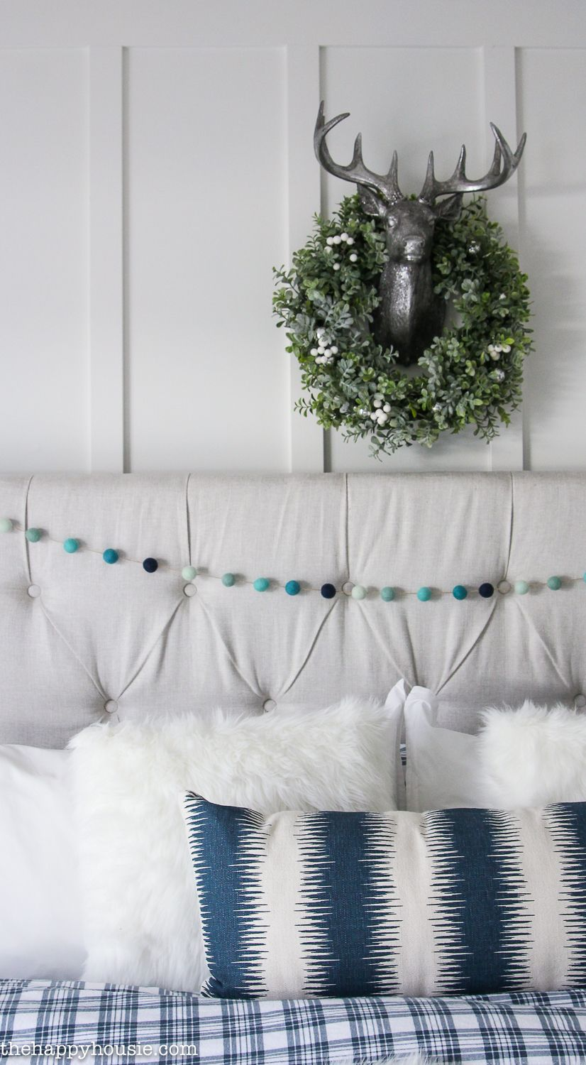 Beach Chic Christmas Master Bedroom Tour | Master bedroom, Bedrooms ...