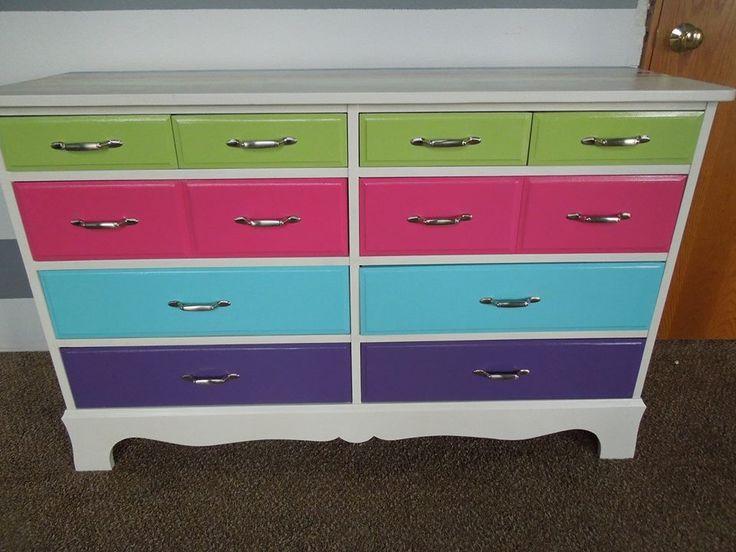 Best Fun Painted Dresser For Kids With Twelve Drawer Dengan 640 x 480