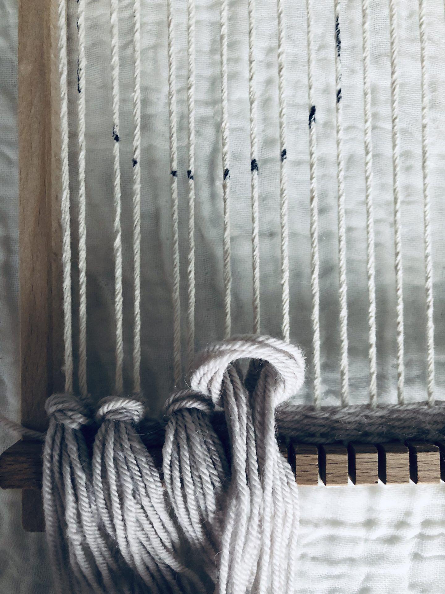 DIY Woven Wall Hanging   Circle Design Using a Weaving Loom – Zharzi