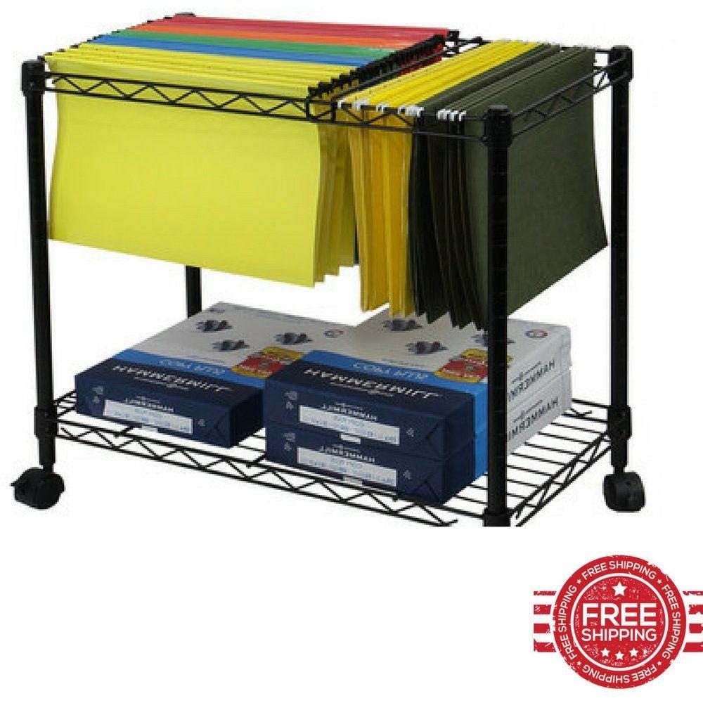 rolling office cart. Rolling Office Cart. Cart Utility Portable Multipurpose Metal Frame Envelopes Files Rack On