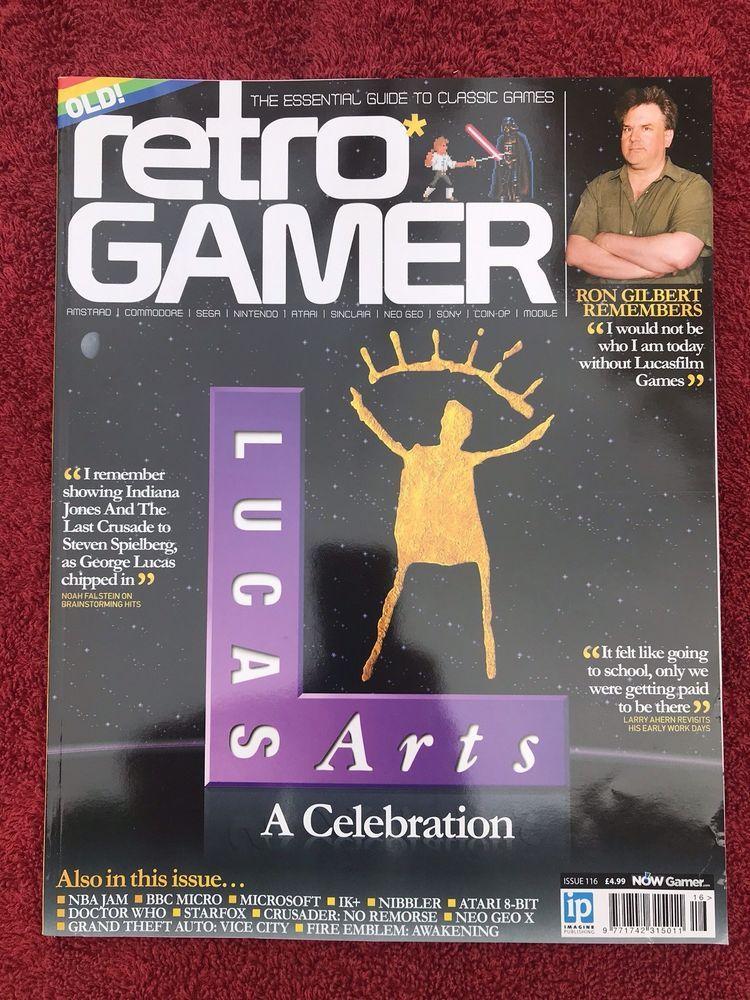 Retro Gamer Magazine - Issue / Load #116