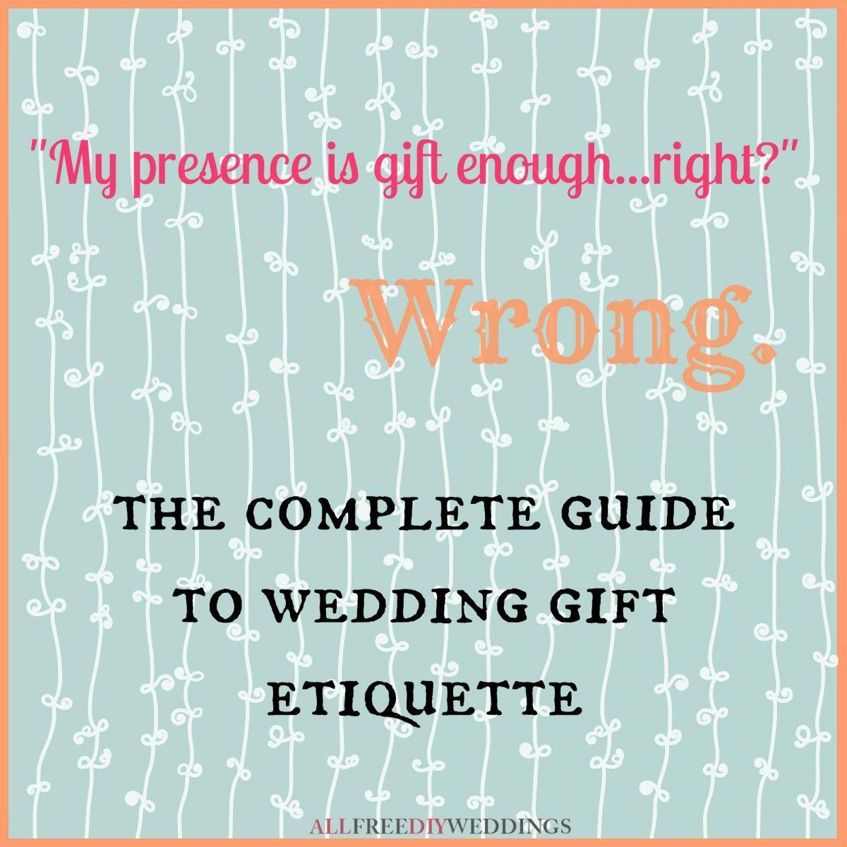 Wedding gift etiquette wedding gift etiquette weddings and diy