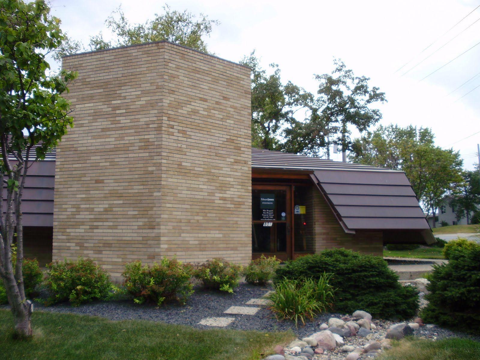 Herman Fasbender Medical Clinic by Frank Lloyd Wright in