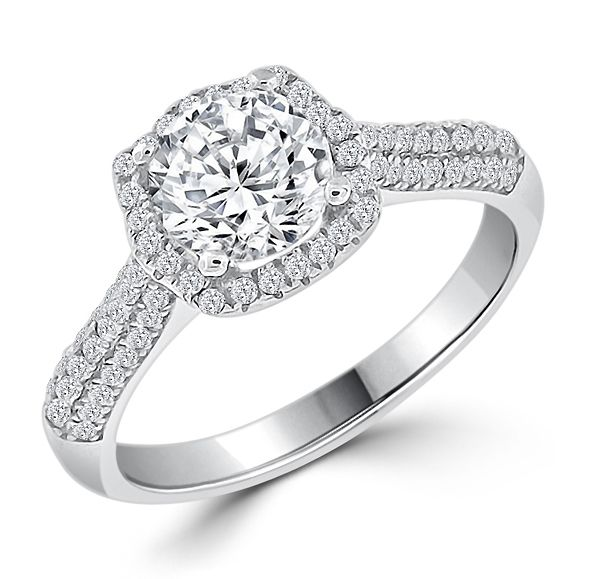 cheap engagement rings under 100 dollars - Wedding Rings Silver