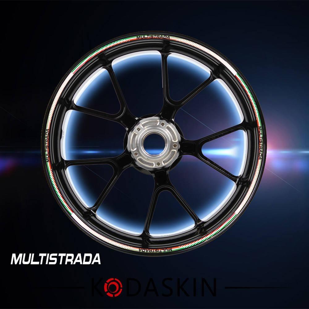Kodaskin Wheel Decals Stickers Rim Stripes Motorbike For