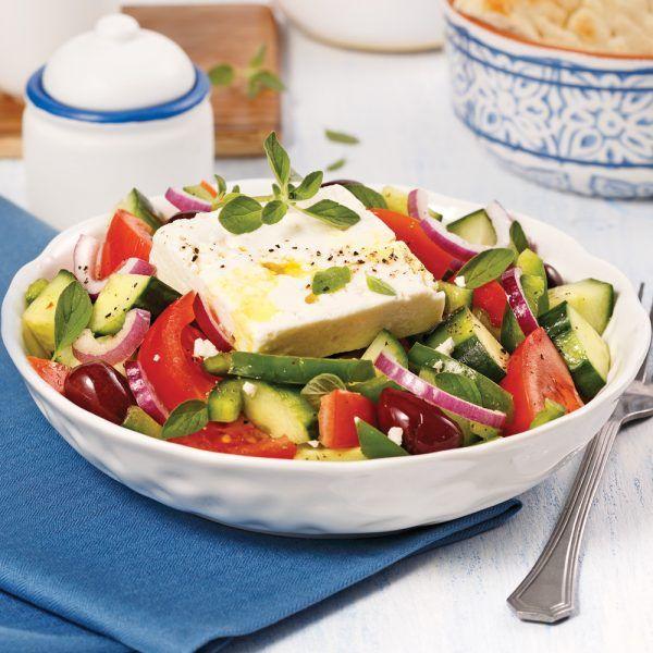 Salade grecque #saladeautomne