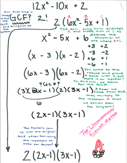 Factoring Trinomials We deal with GCF, Difference of Squares ...