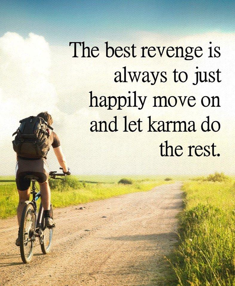 The best revenge...