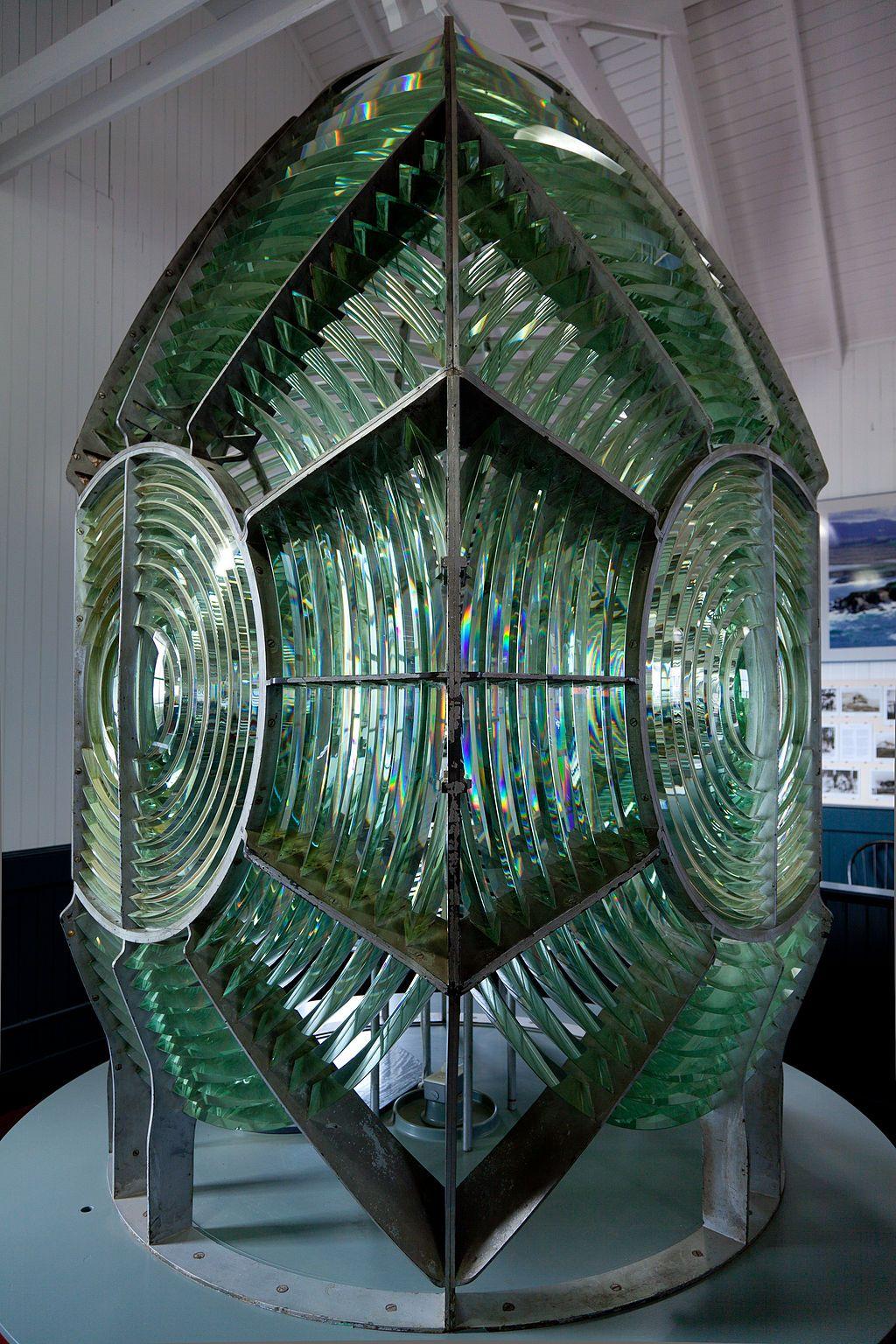 1st order Fresnel lighthouse lens - Fresnel lens - Wikipedia