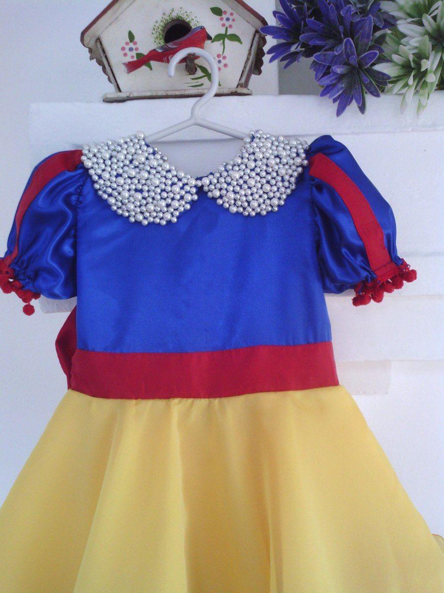 106da7645b Fantasia Estilizada Infantil - Branca De Neve - R  190