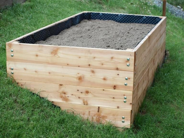 Ein Neues Hochbeet Marke Eigenbau Hochbeet Garten Hochbeet Und Garten Bepflanzen