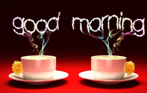 good morning 3d wallpaper