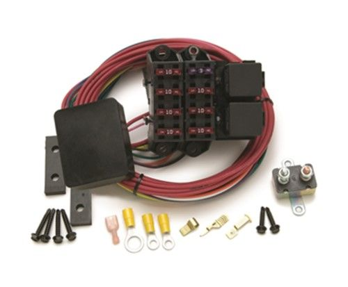 painless wiring 70217 7 circuit weather resistant fuse block  diagnosing electrical problems