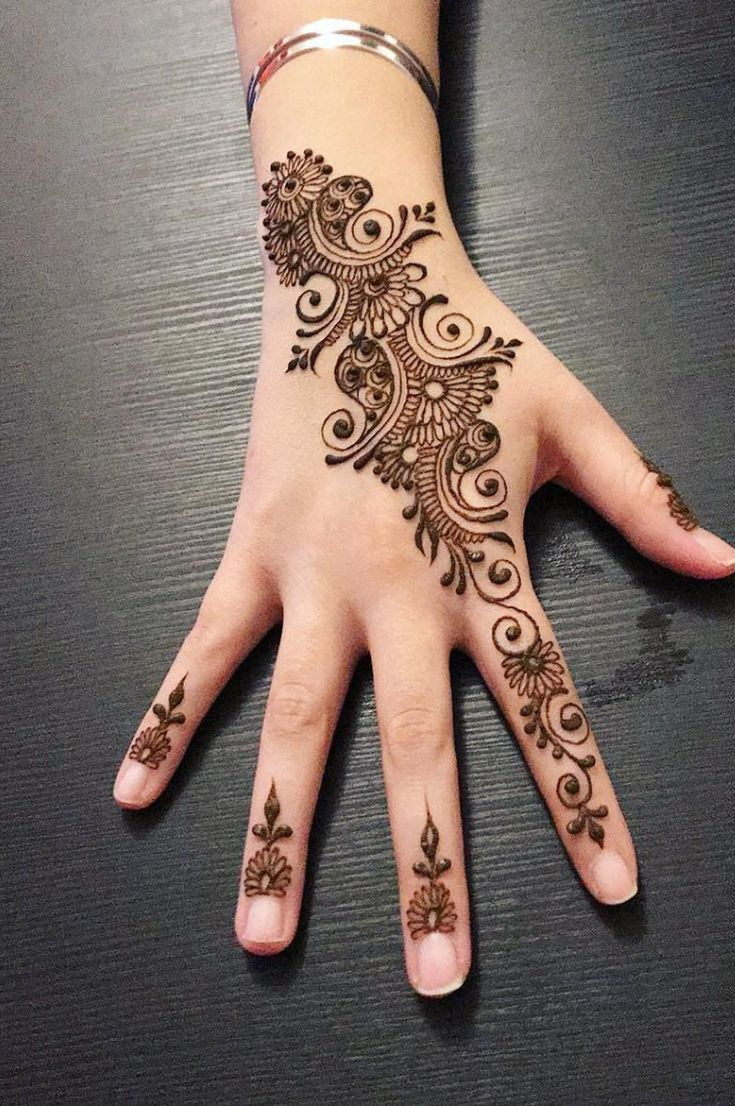 32 Free Henna Tattoo Design You Can Do Best Henna Drawings At Home New 2019 Eeasyknitting Com Henna Tattoo Designs Henna Tattoo Designs Hand Henna Drawings