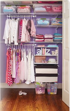 Home Organization 101: Configure Your Childu0027s Closet With Lower Shelves And  Bars They Can Reach During Independent Clean Up. #homeorganization