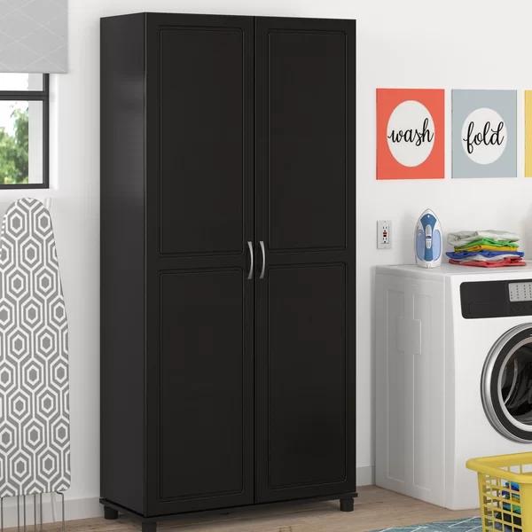 Scholl Storage Cabinet | Storage, Mirrored armoire, Tall ...