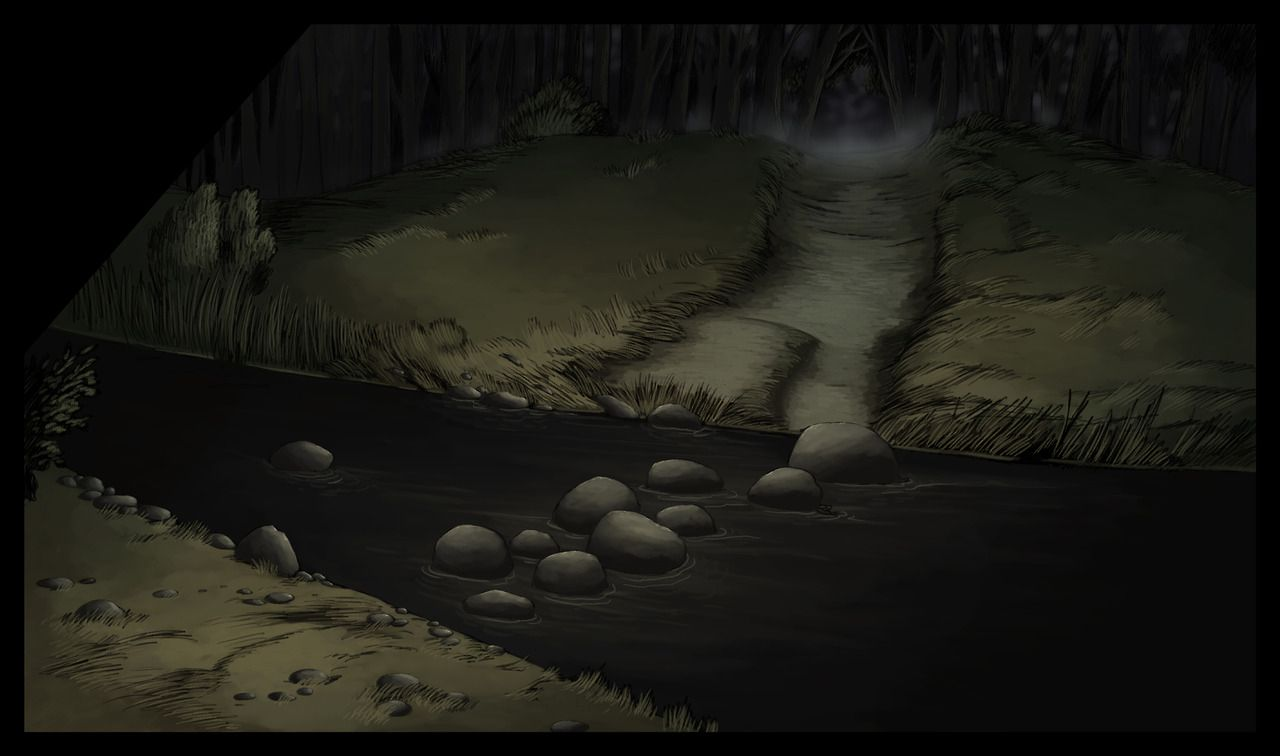 Here Are Some Background Paintings I Did For Chapter One Of Over The