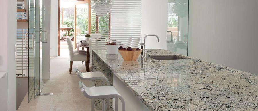 el top en encimeras de cocina granito mrmol sinttico y madera ideas
