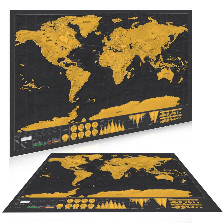 Scratch off world map personalized vintage travel world map poster scratch off world map personalized vintage travel world map poster sticker vacation national geographic retro maps gumiabroncs Image collections