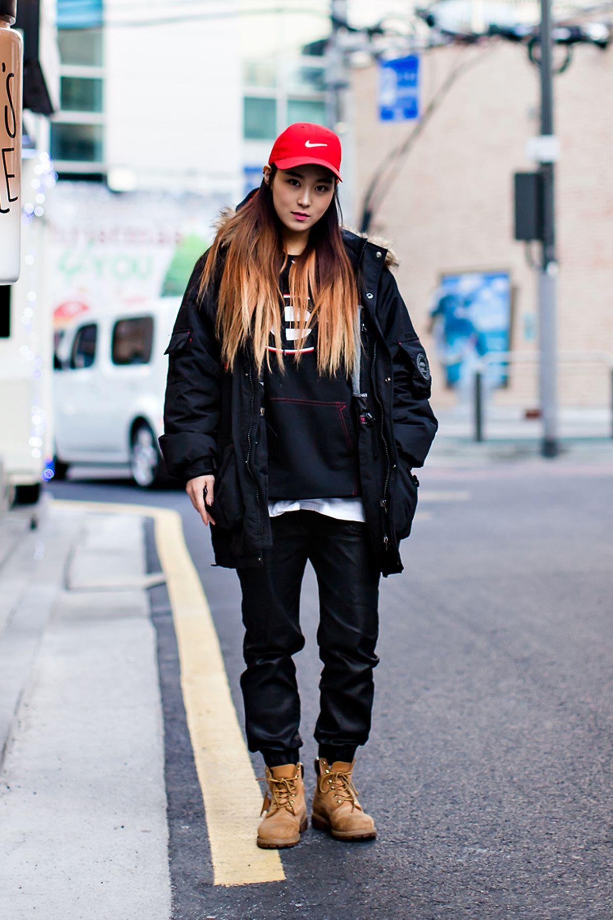 On the street… Kim Bora Seoul | Korean fashion shorts