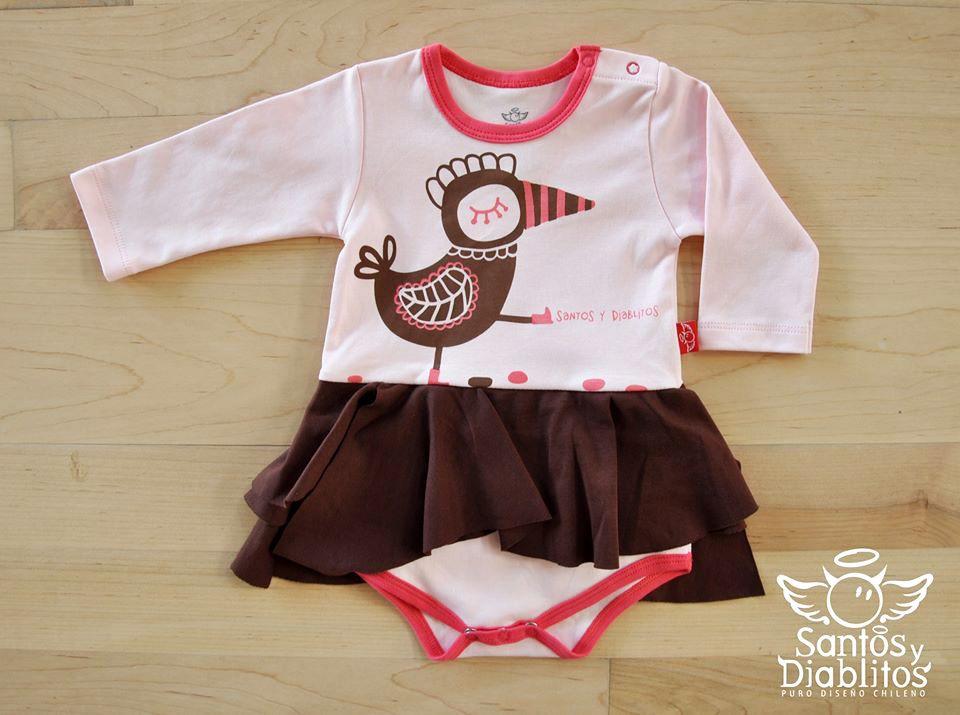 baby dress Pio-Pio santos y diablitos  f2554da0882